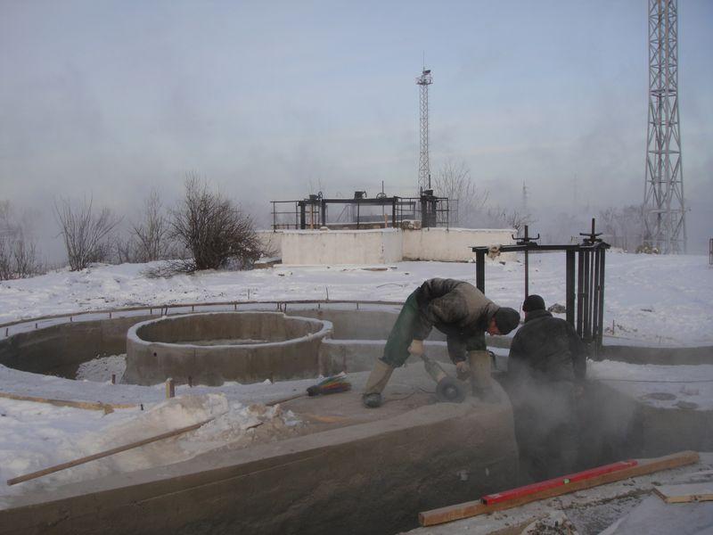 Гидроизоляция зимой